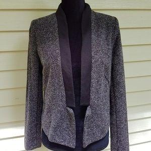 Gap black, gray and white blazer size medium